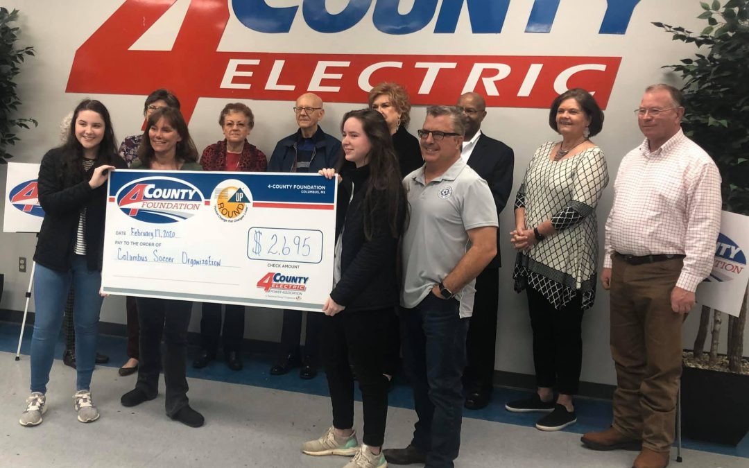 4 County Foundation TOPSoccer Grant