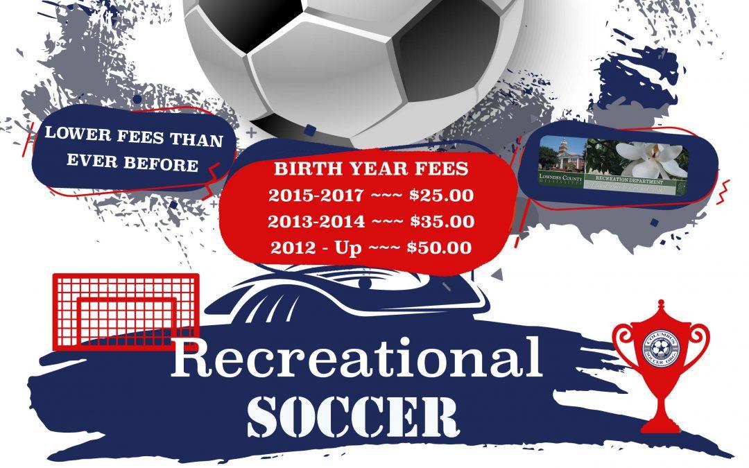 CSO Recreational Registration Is Open